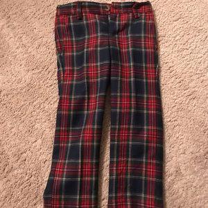Janie and Jack tartan plaid wool pants 3T